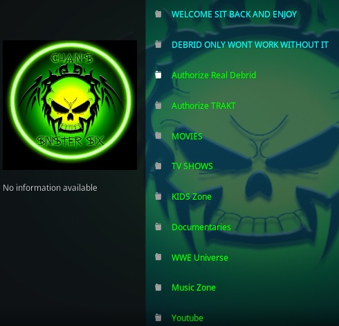 How To Install Chains and Sinister Six Kodi Addon Overview