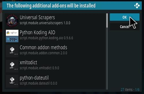 How To Install ClickSville Kodi Addon Step 19