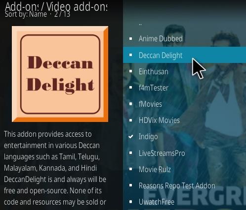 How To Install Deccan Delight Kodi Addon Step 17