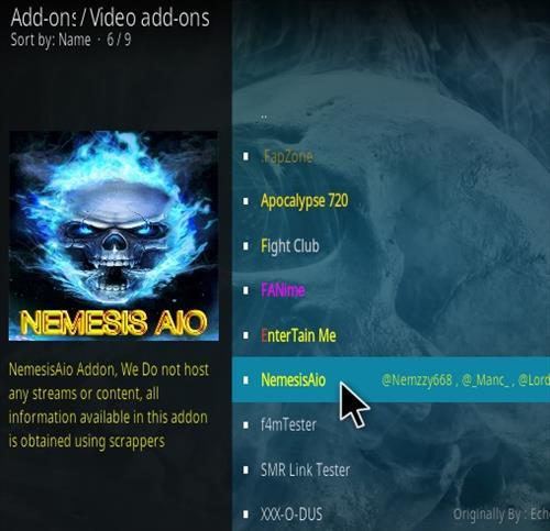 How To Install Nemesis Aio Kodi Addon 2020 Step 17