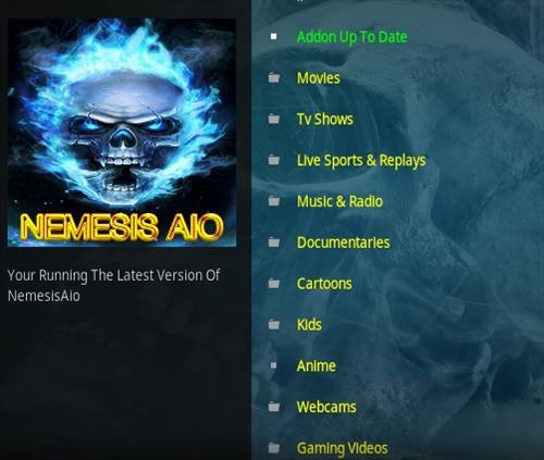How To Install Nemesis Aio Kodi Addon Overview