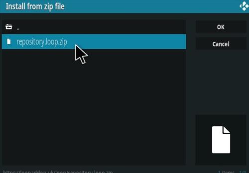 How To Install The Loop Kodi Sports Addon Step 12
