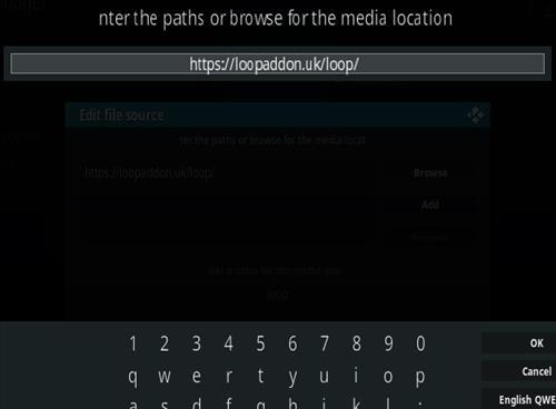 How To Install The Loop Kodi Sports Addon Step 5