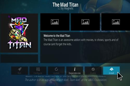 How To Install The Mad Titan Kodi Addon Step 18