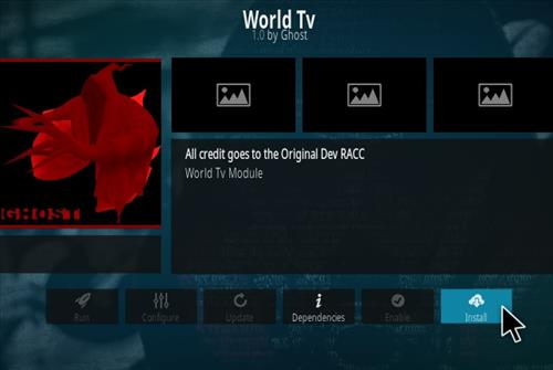How To Install World TV Ghost Kodi Addon Step 18