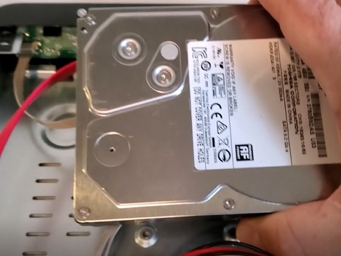 How To Add a Hard Drive To an H.265+ DVR or NVR Step 3