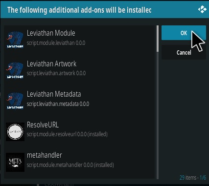 How To Install Leviathan Kodi Addon 2020 Update Step 19