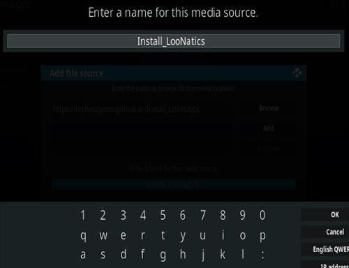 How To Install LooNatics 3000 Kodi Addon Step 6