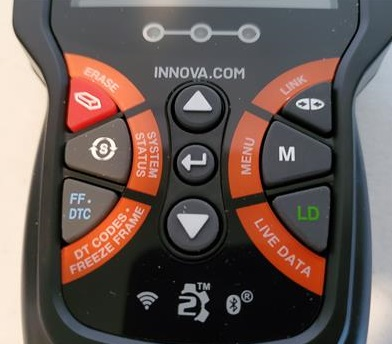 Review INNOVA 6030P OBDII Scan Tool with ABS Buttons