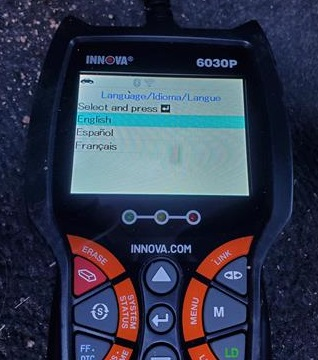 Review INNOVA 6030P OBDII Scan Tool with ABS Menu