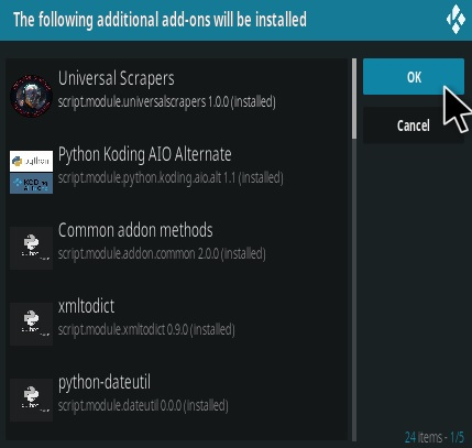How To Install Chains Sinisters Kodi Add-on Step 17
