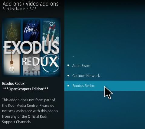 How To Install Exodus Redux Kodi Addon Udate 8 Step 17