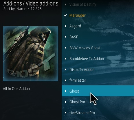 How To Install Ghost Kodi Addon 2020 Step 17