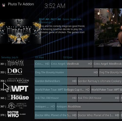 How To Install Pluto TV Kodi Addon Overview 2