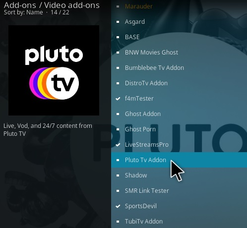 How To Install Pluto TV Kodi Addon Step 17