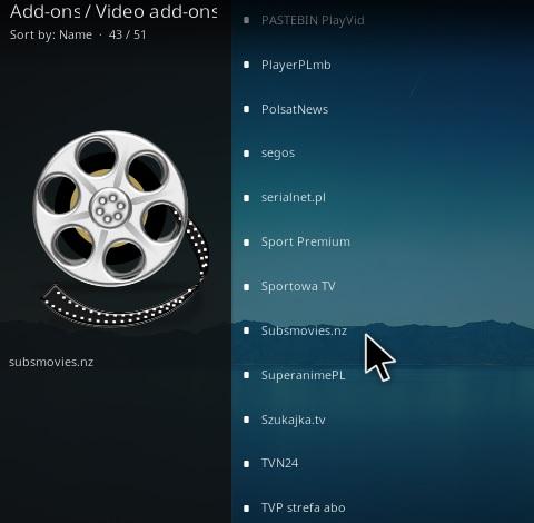 How To Install Subs Movies.nz Kodi Addon Step 17