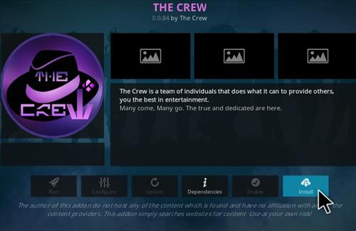 How To Install The Crew Kodi Addon V844 Step 18