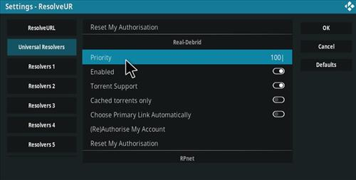 How To Setup Real Debrid with Kodi Step 10