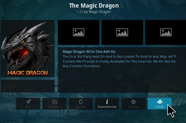 How to Install The Magic Dragon Kodi Add-on V138 Step 17