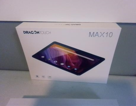 Review Dragon Touch MAX 10 Tablet Octa-Core Processor Camera Test