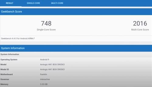 Review HK1 Android TV Box S905X3 4GB RAM 128GB Gamming Benchamark Score