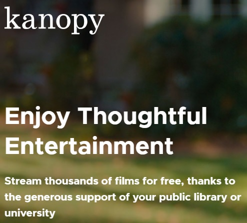 Best Free Online Movie and TV Streaming Websites Kanopy
