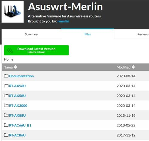 How To Flash an Asus Router with Asuswrt Merlin Firmware Step 3