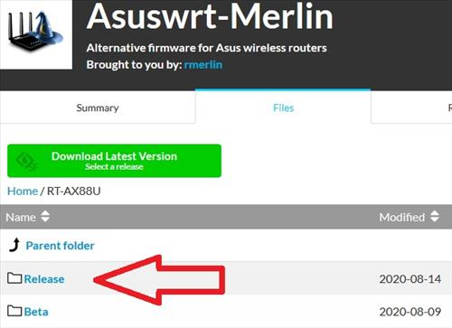 How To Flash an Asus Router with Asuswrt Merlin Firmware Step 4