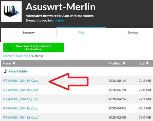 How To Flash an Asus Router with Asuswrt Merlin Firmware Step 5