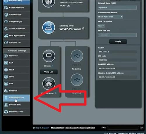 How To Flash an Asus Router with Asuswrt Merlin Firmware Step 8