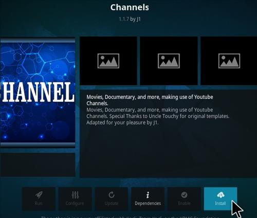 How To Install Channels Kodi Addon V153 Step 18
