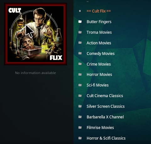 How To Install Cult Flix Kodi Addon V153 Overview