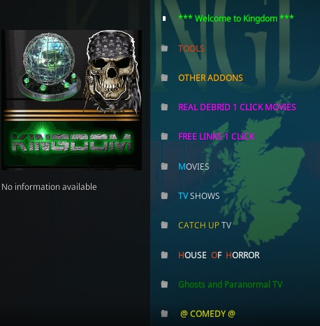 How To Install Kingdom Kodi Addon V121 Overview
