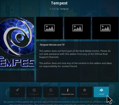 How To Install Tempest Kodi Addon Ver 5366 Step 18