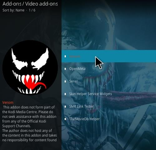 How To Install Venom Kodi Video Addon V402 Step 17