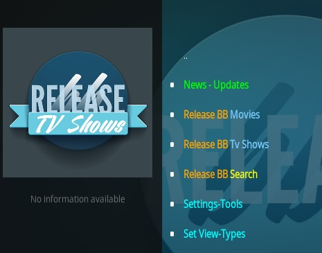 How to Install Release BB Kodi Addon V 203 Overview