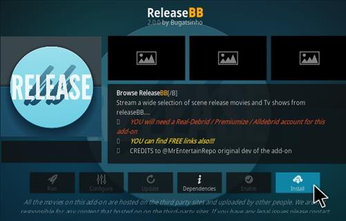 How to Install Release BB Kodi Addon V 203 Step 18