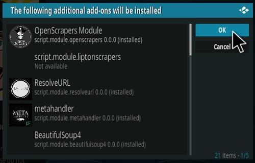 How To Install DG Kodi Addon V1010 Step 19