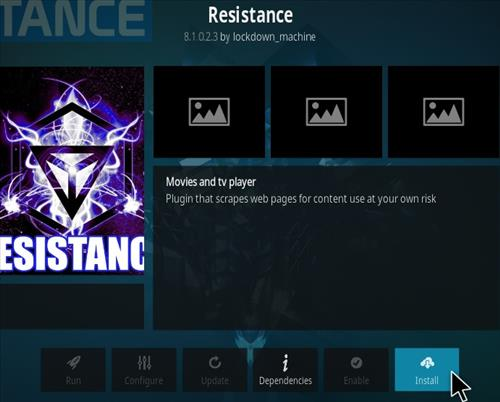 How To Install Resistance Kodi Addon 2020 Step 18