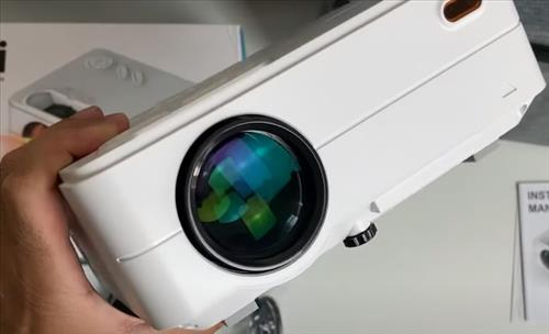 Review ARTLII Enjoy 2 LED 720p Video Projector with WiFi Bluetooth Front