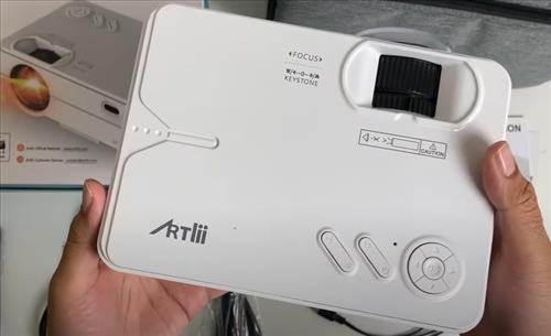 Review ARTLII Enjoy 2 LED 720p Video Projector with WiFi Bluetooth Overview