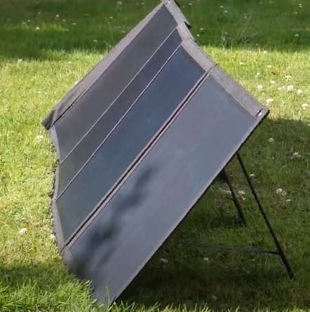 Review CHOETECH 80W Foldable Portable Solar Panel Charger Overview