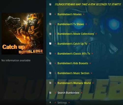 How To Install Bumblebee Kodi Addon 2020 Overview