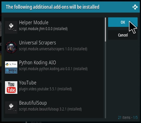 How To Install Butter Fingers Movies Kodi Addon V161 Step 19