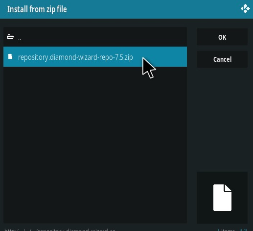 How To Install Dimond Repo Step 12