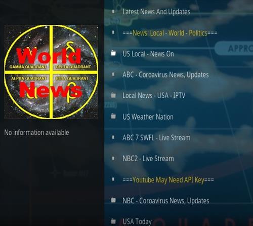 How To Install Gamma Quadrant World News Kodi Addon 2021 Overview