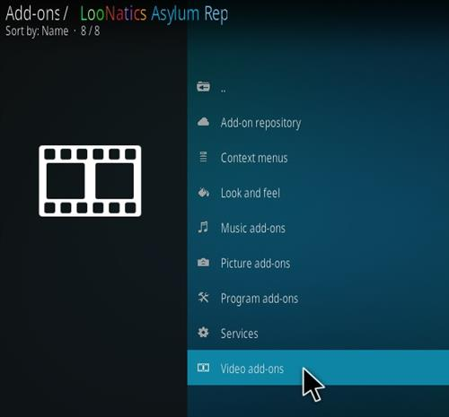 How To Install LooNatics 3000 Kodi Addon Version 20105 Step 16