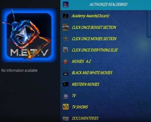 How To Install METV Kodi Addon Overview