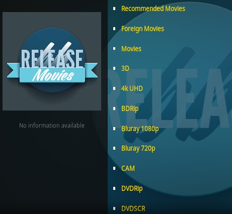 How To Install Release BB Kodi Addon Overview 2