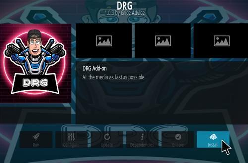 How To Install DRG Kodi Addon Step 18